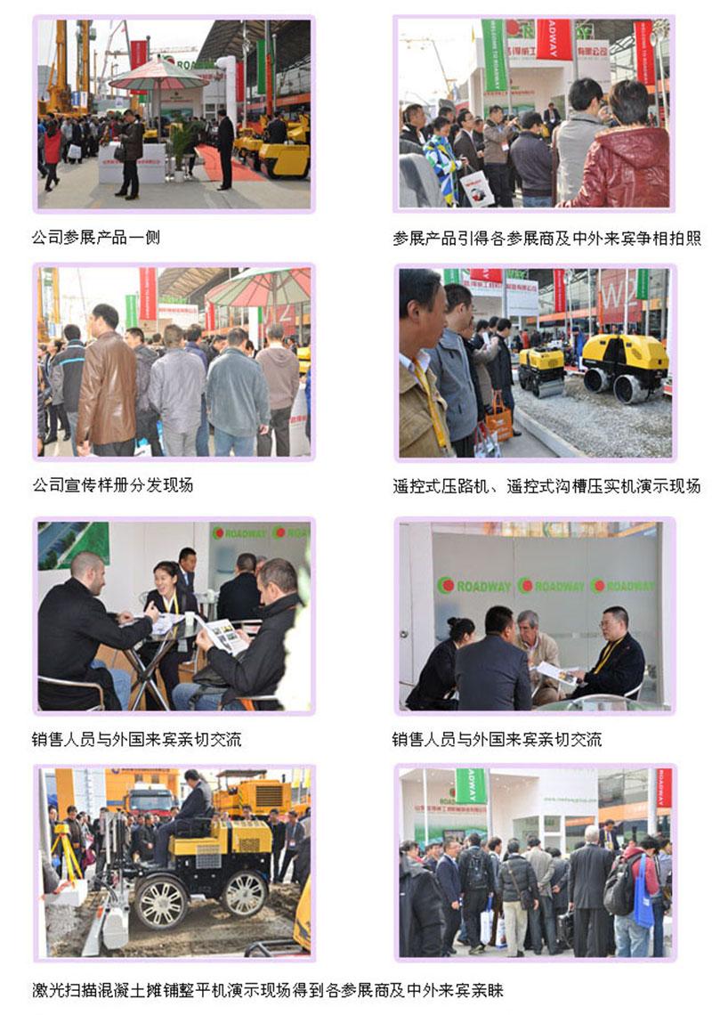 祝山东路得威成功参展2012年上海宝马展