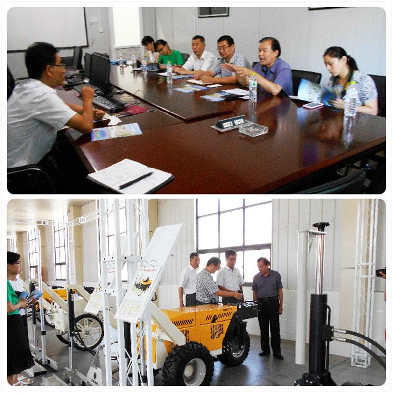 济宁高新区经发局、济宁市机械行业商会领导来公司调研考察