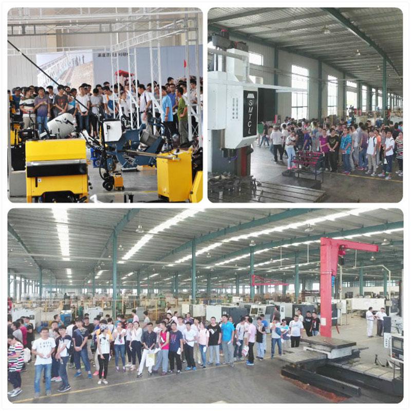 济南大学师生来公司参观学习